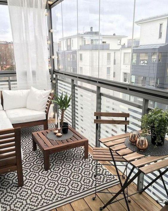 شیوه های طراحی تراس خانه های آپارتمانی