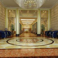 مدل سه بعدی هتل