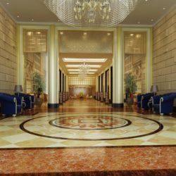 دانلود مدل سه بعدی طراحی داخلی هتل از Global Masterwork