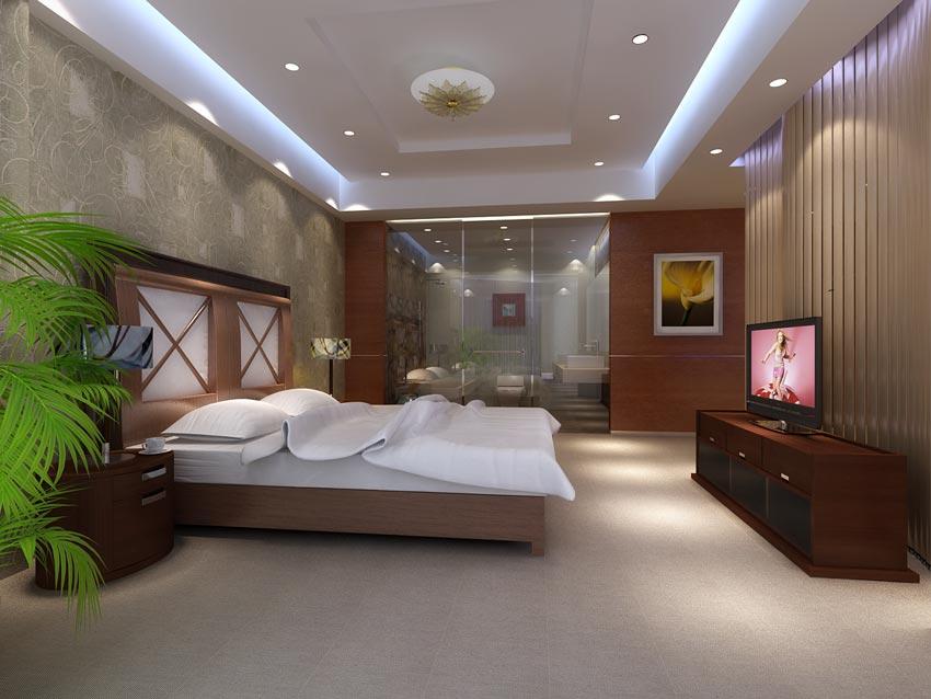 دانلود مدل سه بعدی طراحی داخلی هتل