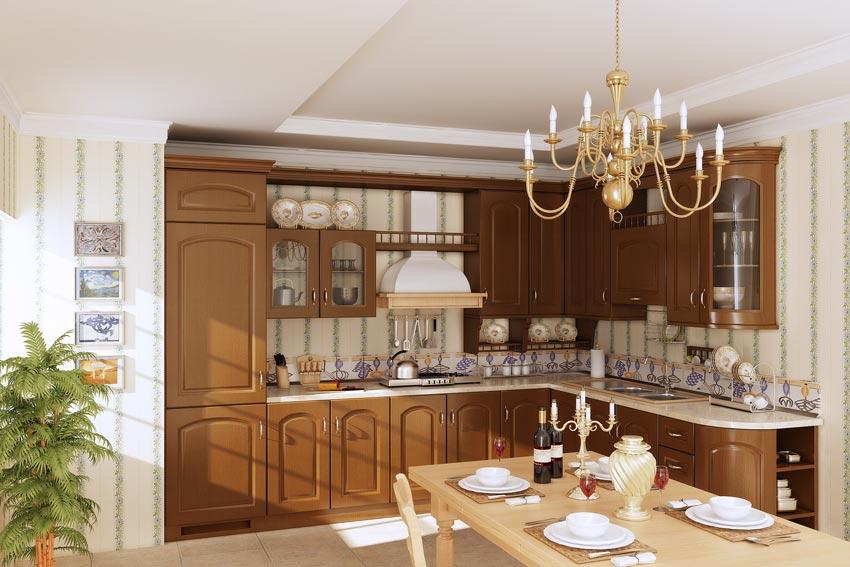 آبجکت آشپزخانه کلاسیک