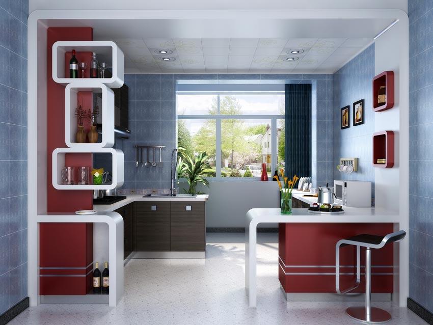 آبجکت آشپزخانه مدرن