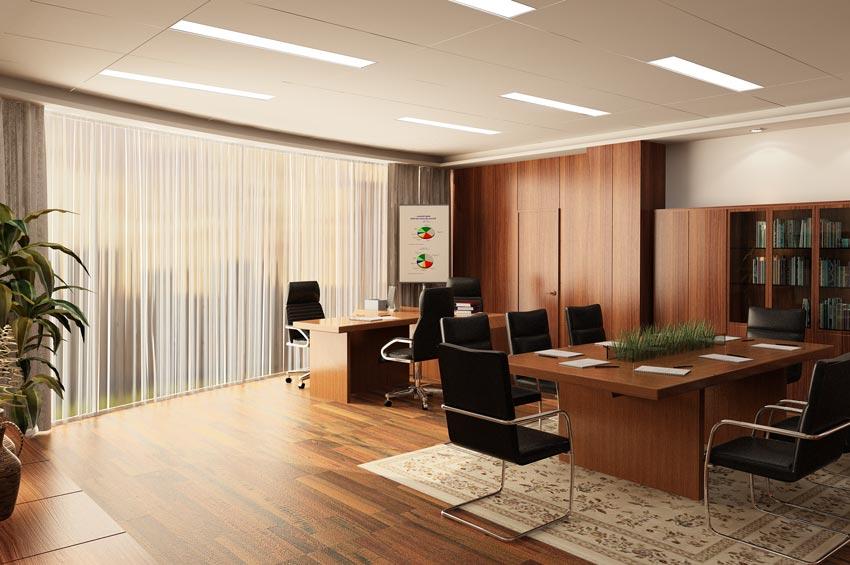 صحنه آماده سه بعدی طراحی اداری و سالن جلسات - Global Masterwork
