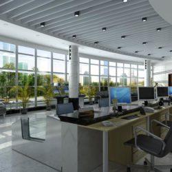 دانلود مدل سه بعدی دکوراسیون اداری از  Global Masterwork