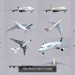 آبجکت هواپیما مسافربری
