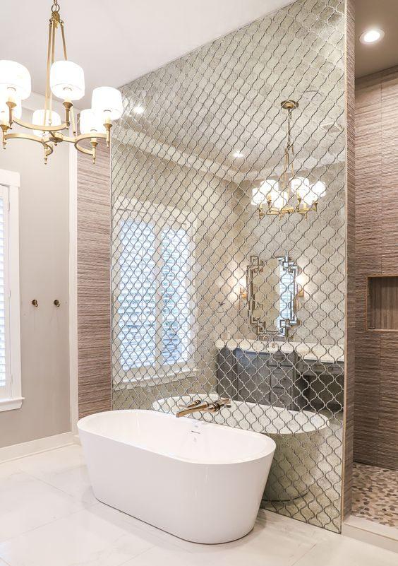 استفاده از آینه در طراحی داخلی منزل