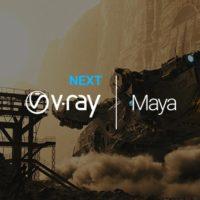 دانلود vray next برای maya 2015-2019