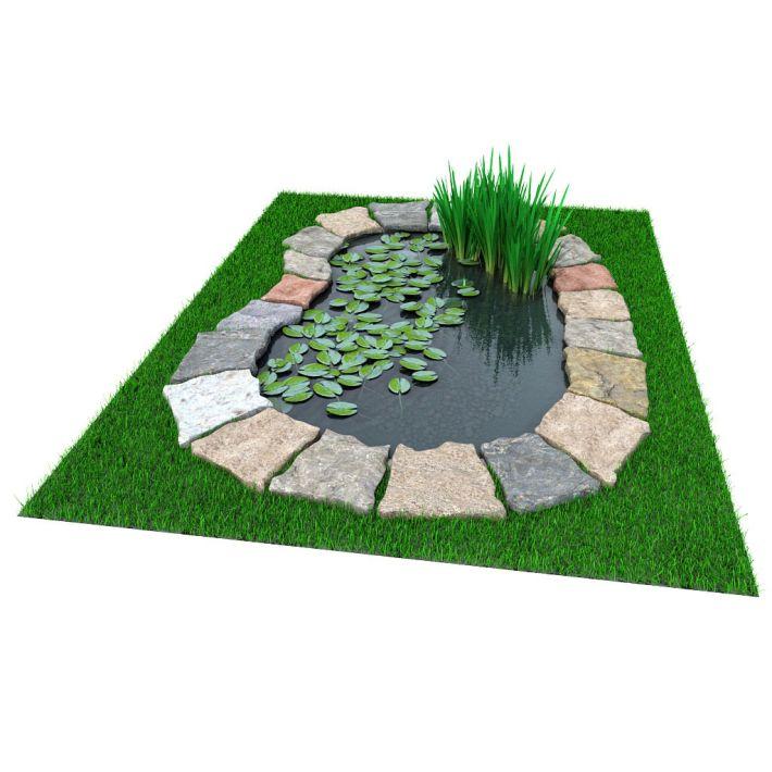 آبجکت طراحی باغچه