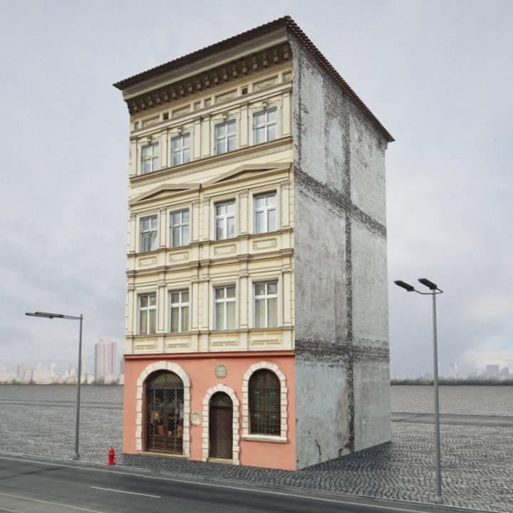 آبجکت ساختمان کلاسیک