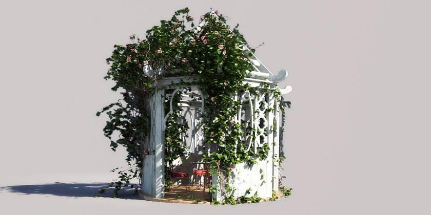 آبجکت لوازم باغ