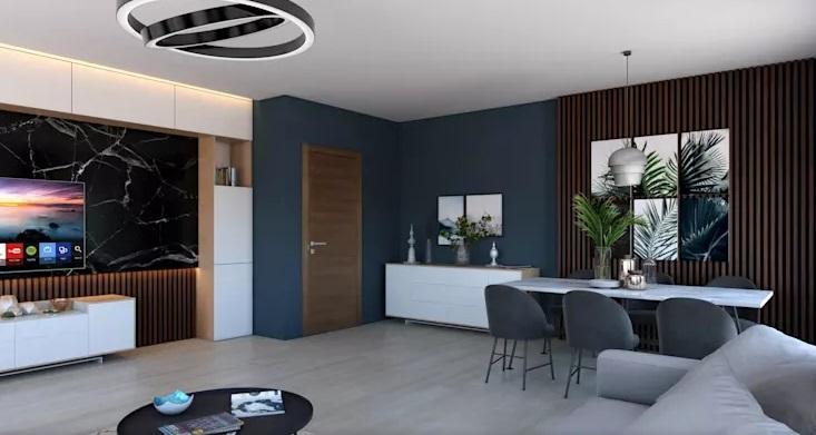 رنگ لاجوردی در طراحی داخلی