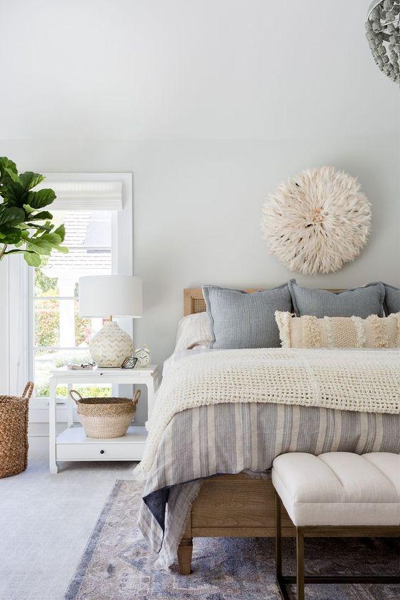 طراحی اتاق خواب کانتری