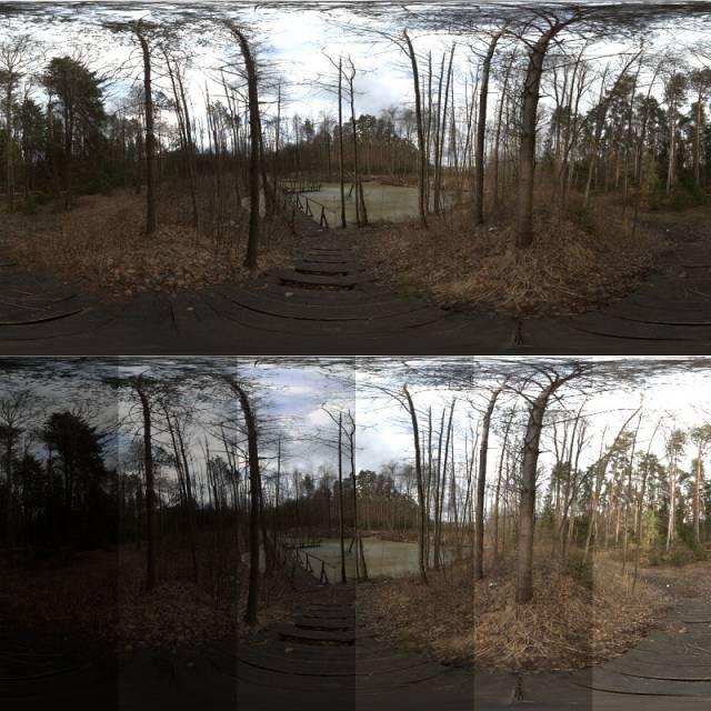 تصویر HDRI طبیعت