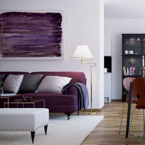 ترکیب 8 رنگ زیبا با رنگ سفید در طراحی داخلی