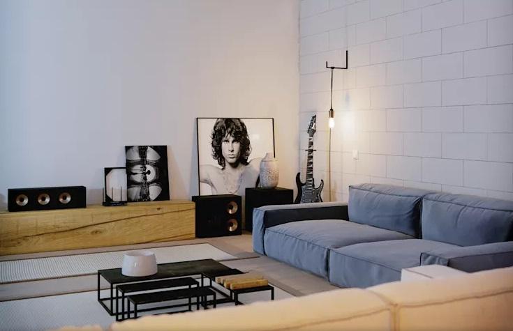 ایده های طراحی اتاق نشیمن شاد و رنگی