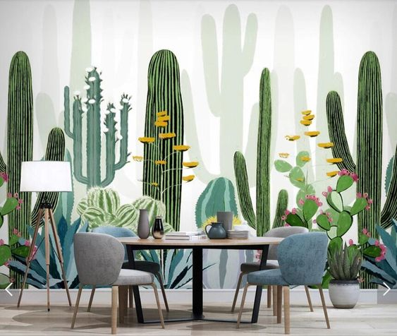 تم جنگل در طراحی داخلی