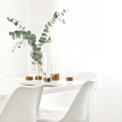 طراحی اتاق غذا خوری به سبک مینیمال