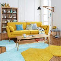 شیوه استفاده از رنگ خردلی در طراحی داخلی