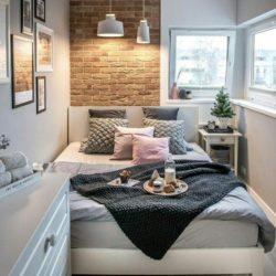 10 شیوه دکوراسیون اتاق خواب کوچک و باریک