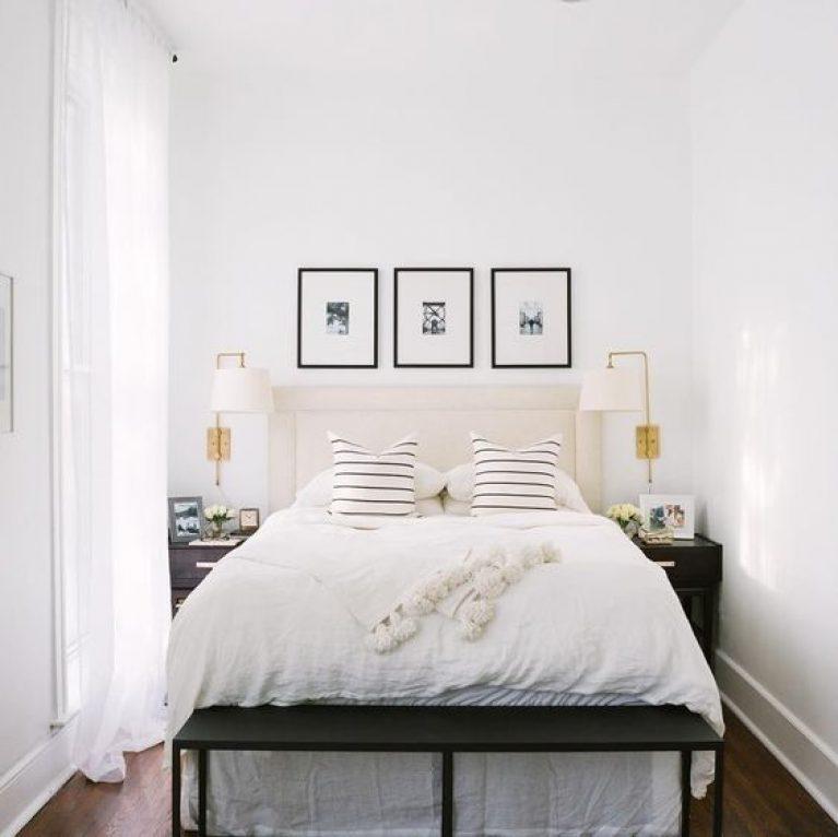 ایده های دکوراتیو اتاق خواب کوچک و باریک