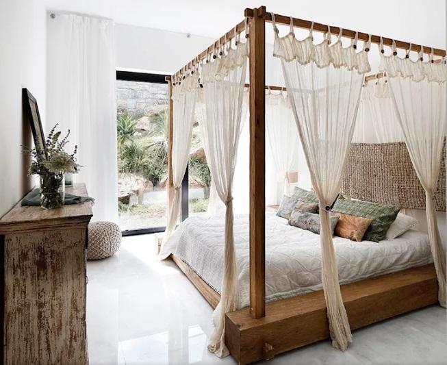 سبک استوایی در اتاق خواب