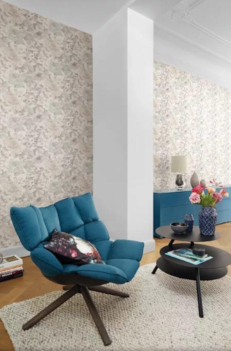 کاربرد رنگ فیروزه ایی در طراحی داخلی