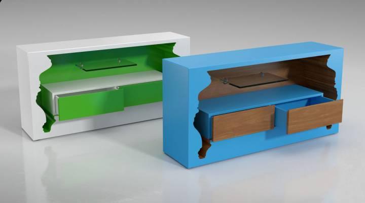 مدل سه بعدی کنسول