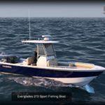 مدل سه بعدی قایق