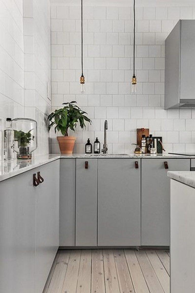 کاربرد رنگ طوسی در دکوراسیون آشپزخانه