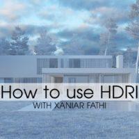 آموزش استفاده از HDRI در نورپردازی و رندرینگ