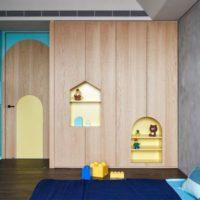 مدل های متفاوت کمد اتاق کودک