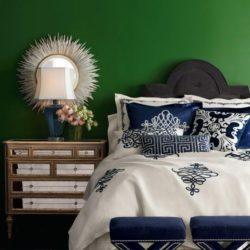 10 شیوه کاربرد رنگ سبز در دکوراسیون اتاق خواب