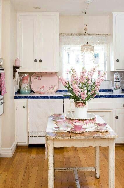 آشپزخانه به سبک شابی شیک