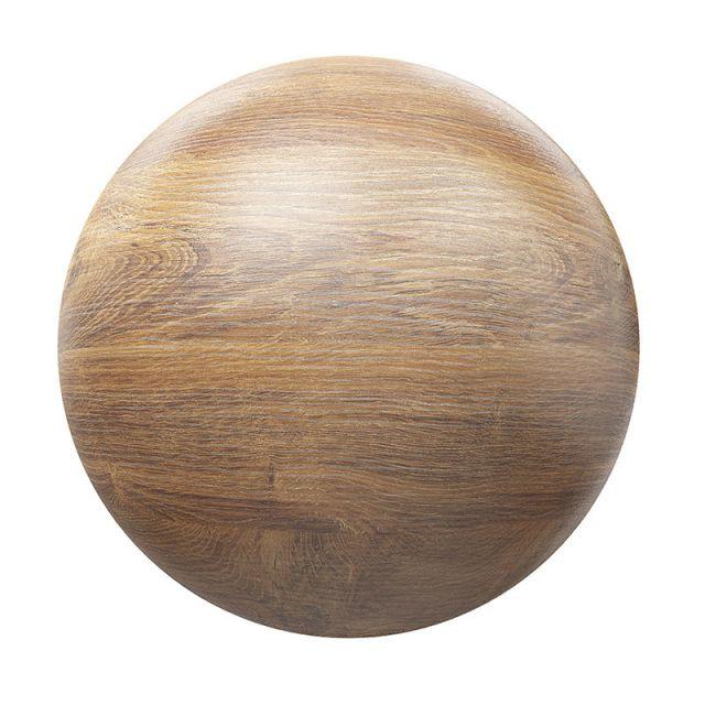 متریال چوب PBR