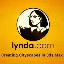 آموزش ایجاد منظره شهری با تری دی مکس