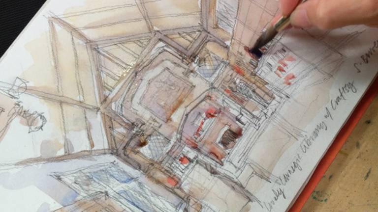 دوره آموزشی Sketching