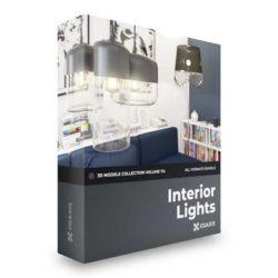 مدل سه بعدی لامپ داخلی – دانلود سی جی اکسیس ولوم 114