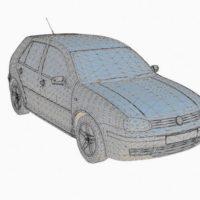 مدل سه بعدی طراحی خارجی