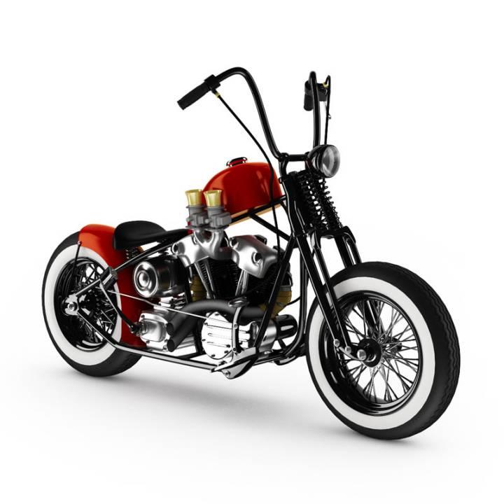 آبجکت موتورسیکلت