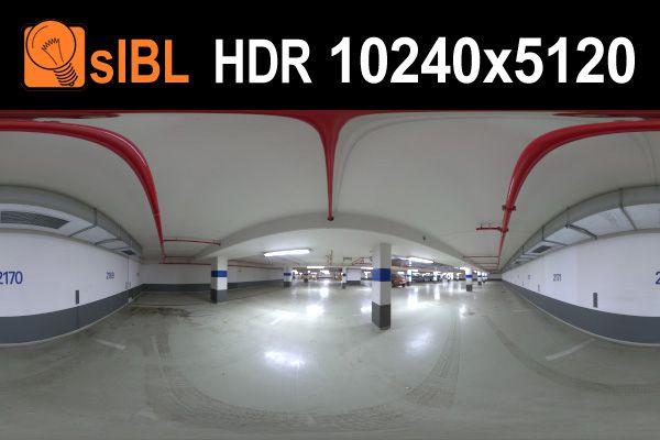 HDRI محیط صنعتی