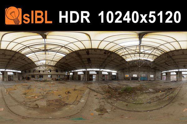 تصاویر HDRI محیط پارکینگ و کارخانه