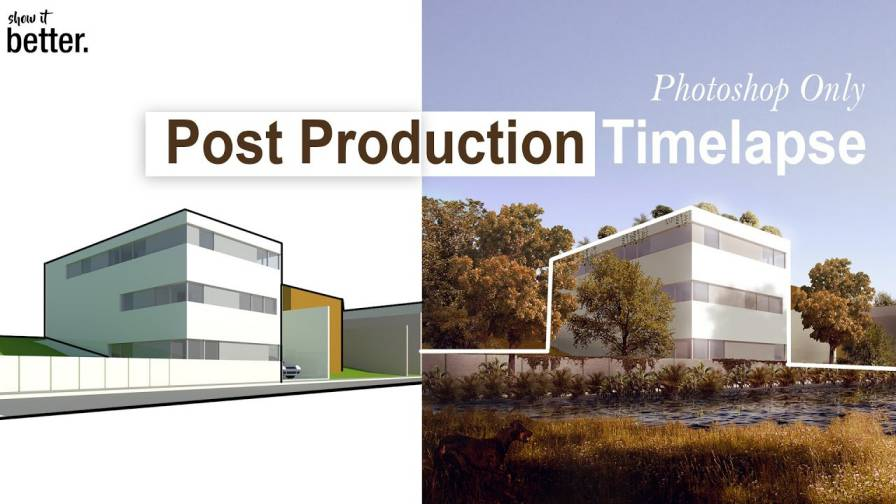 آموزش Architecture Post production