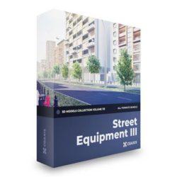 دانلود مدل سه بعدی تجهیزات خیابان