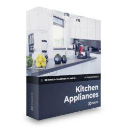 دانلود مدل سه بعدی لوازم برقی آشپزخانه