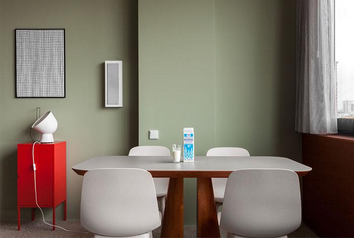 رنگ ، بافت و الگو در دکوراسیون آپارتمان