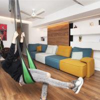 طراحی داخلی خانه با مبلمان مدولار