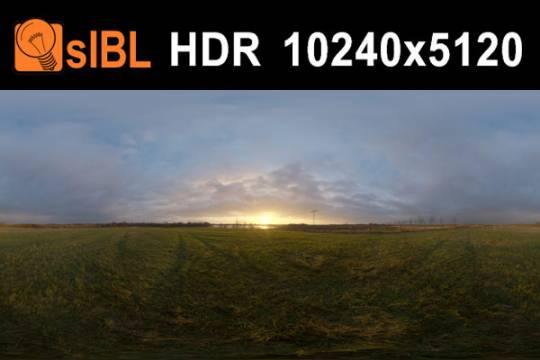 HDRI مزرعه