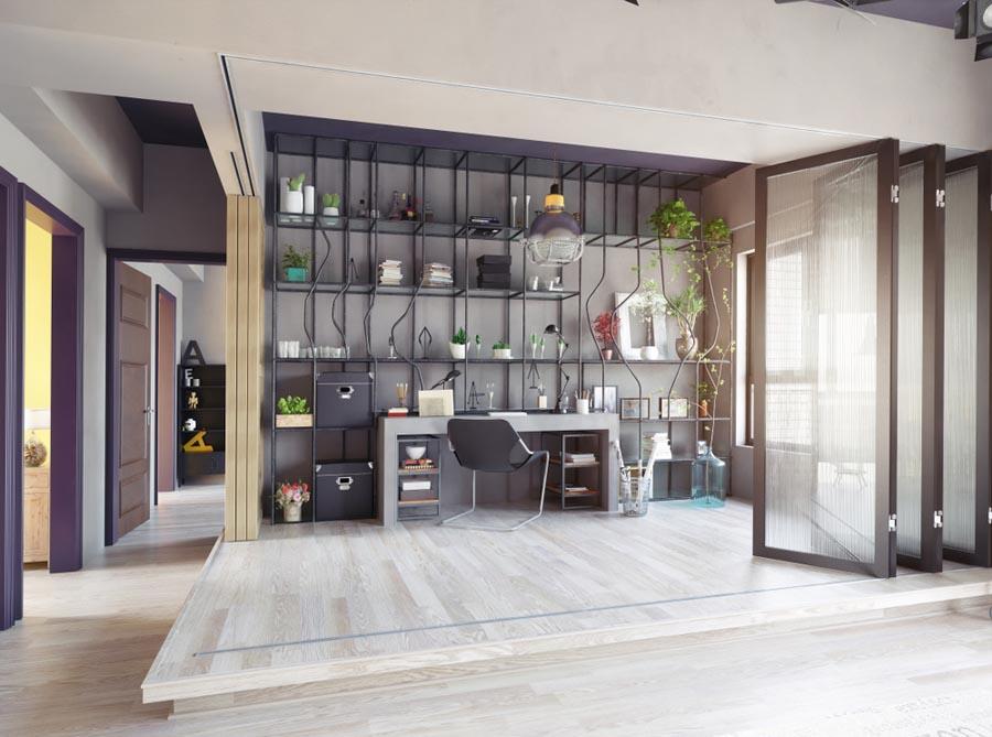طراحی داخلی آپارتمان روستایی