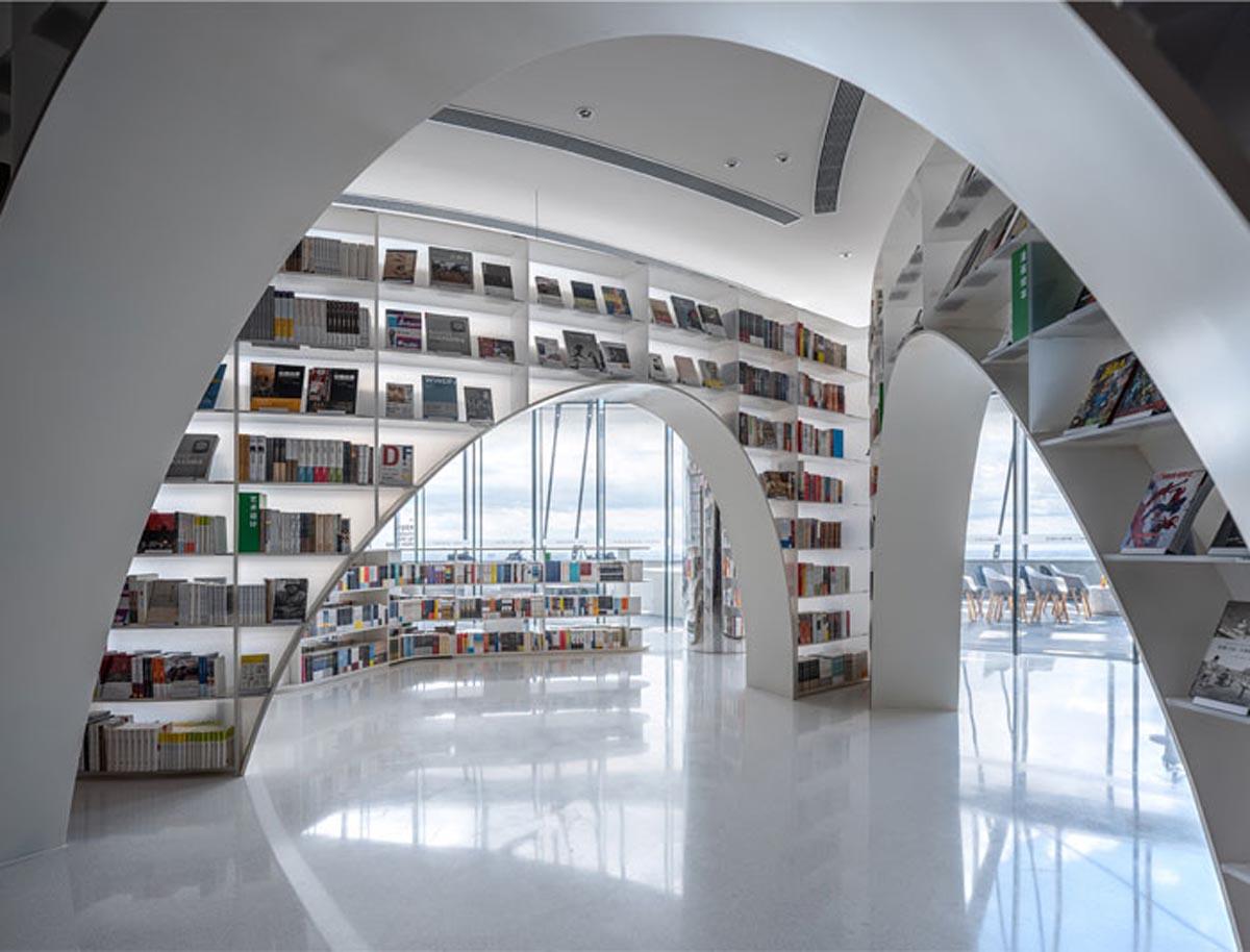 طراحی کتابفروشی در چین