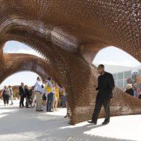 طراحی خلاقانه سازه نمایشگاهی
